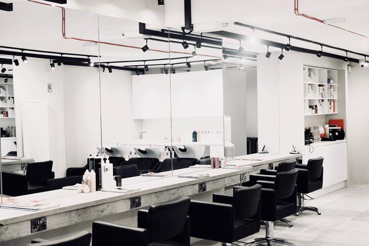 Batik hair salon interior