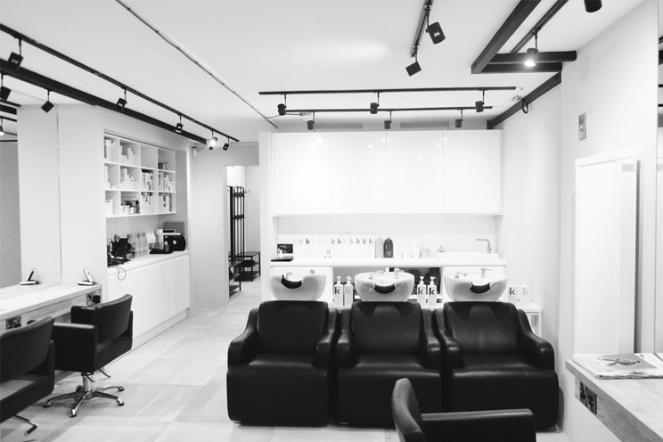 Batik hair salon seating