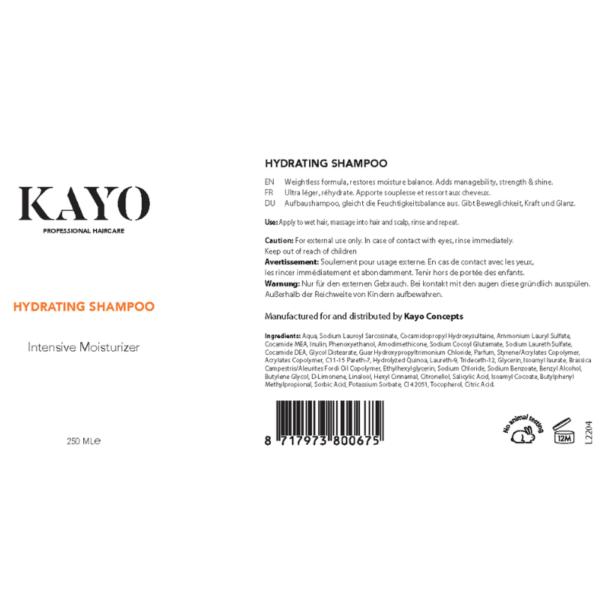 Kayo Hydrating Shampoo