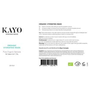 Kayo Organic Hydrating Mask
