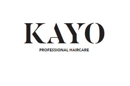 Kayo professional haircare logo in black
